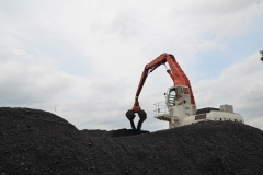 C&B loading a coal barge