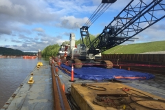 C&B dredging on the Ohio River